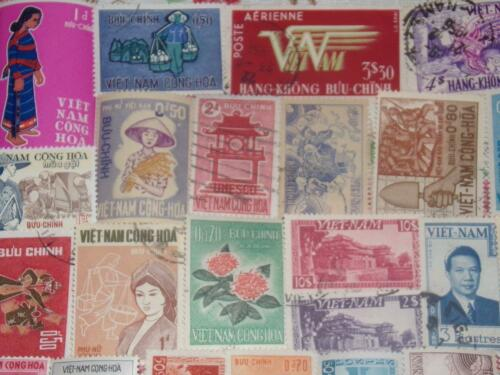 Купить VIETNAM,SOUTH PRE-1975 STAMP COLLECTION LOTS OF MINT ONES!