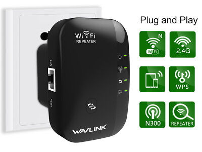 300Mbps Wifi Repeater,Wireless Range Extender&Singal Booster &Suppporting WPS