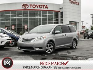 2017 Toyota Sienna LE: POWER SLIDING DOORS, POWER SEAT, BLUETOOT