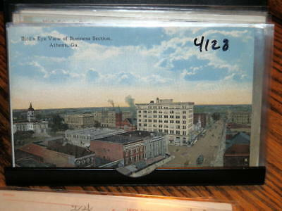 #4128,Bird's Eye View,Seldom Seen,Athens,GA Circa 1910