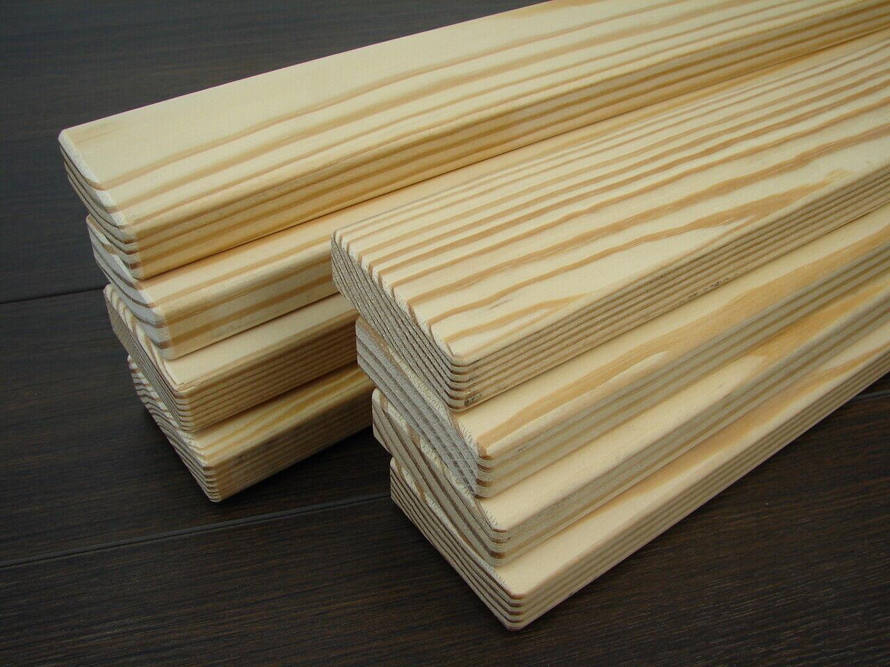 Banklatten Southern Yellow Pine 22x65mm versch. Längen Gartenbank Holzbank Bänke