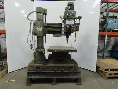 Jet Jrd-980 9x 43 Radial Arm Drill Press 230460v 3ph 3mt