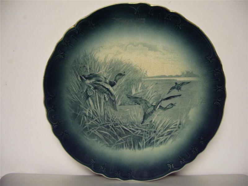 Buffalo Pottery Plate Wild Ducks Very good condition