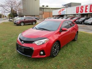 2014 Toyota Corolla S~LEATHER~SUNROOF~ALL POWER OPTIONS
