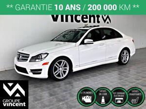 2013 Mercedes Benz C-Class C 300 4MATIC **GARANTIE 10 ANS**