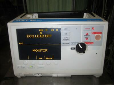 Zoll M Series 3 Lead Ecg Biphasic