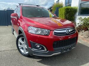 2014 Holden Captiva CG MY15 7 AWD LTZ Red 6 Speed Sports Automatic Wagon Slacks Creek Logan Area Preview