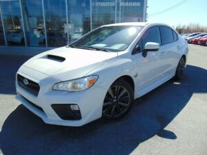 2016 Subaru WRX 31 000KM AWD TURBO  ECRAN TACTILE CAMERA DE RECU