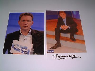 THE JEREMY KYLE SHOW JEREMY KYLE SIGNED REPRINT PHOTOGRAPHS