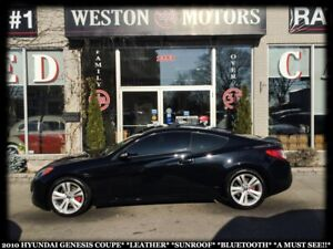 2010 Hyundai Genesis Coupe LEATHER*SUNROOF*BLUETOOTH*A MUST SEE!