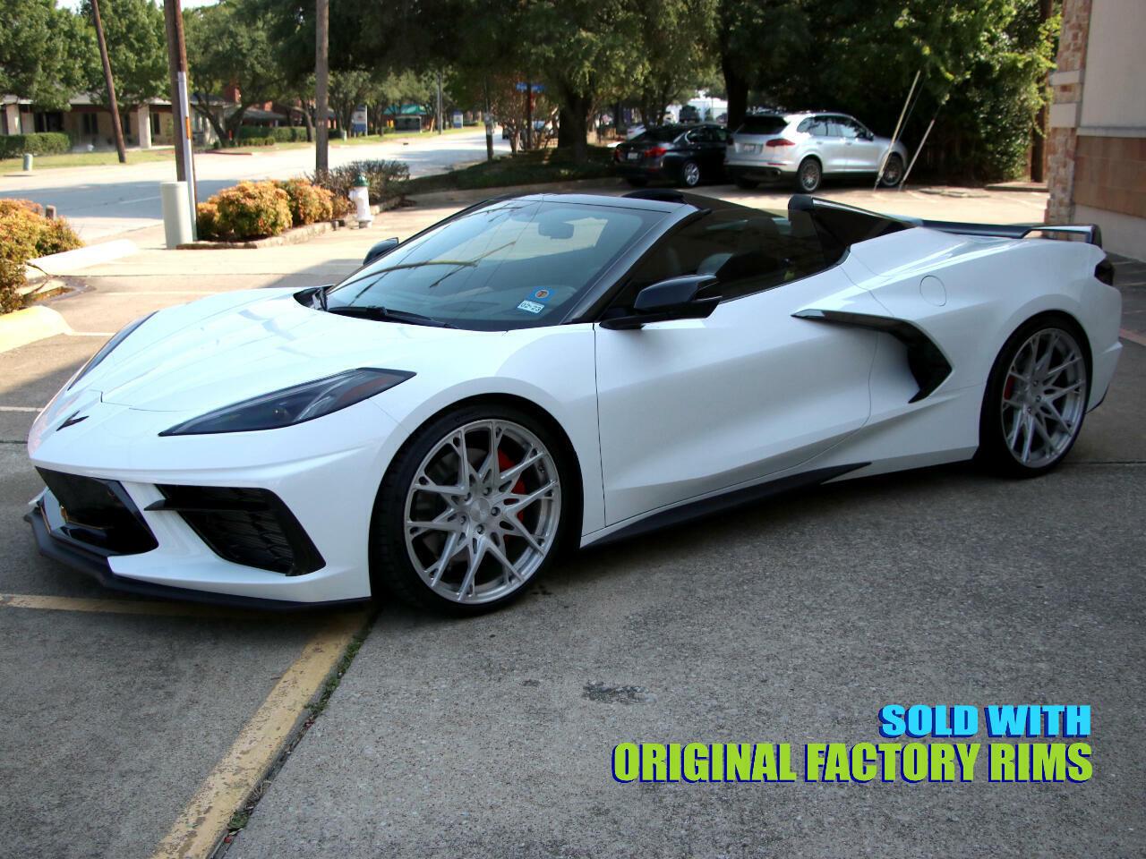 2021 White Chevrolet Corvette Convertible 3LT   C7 Corvette Photo 7