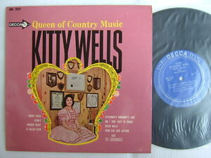 KITTY-WELLS-QUEEN-OF-COUNTRY-MUSIC-NM-MINT-CLEAN-VINYL-JAPAN-10INCH