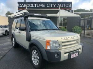 2006 Land Rover Discovery 3 SE Gold 6 Speed Automatic Wagon Morayfield Caboolture Area Preview