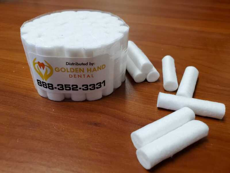 800 Dental Gauze Rolls, Cottons Pads for Dentists, Rolled Cotton Ball Pack of 50