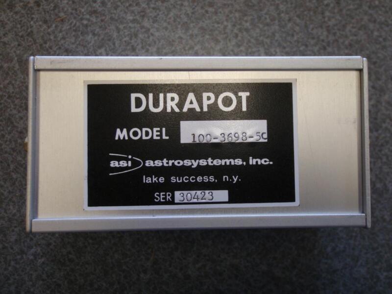 ASI ASTROSYSTEMS DURAPOT 100-3698-5C