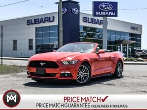 2015 Ford Mustang CONVERTIBLE #ECO #LEATHER #NAV