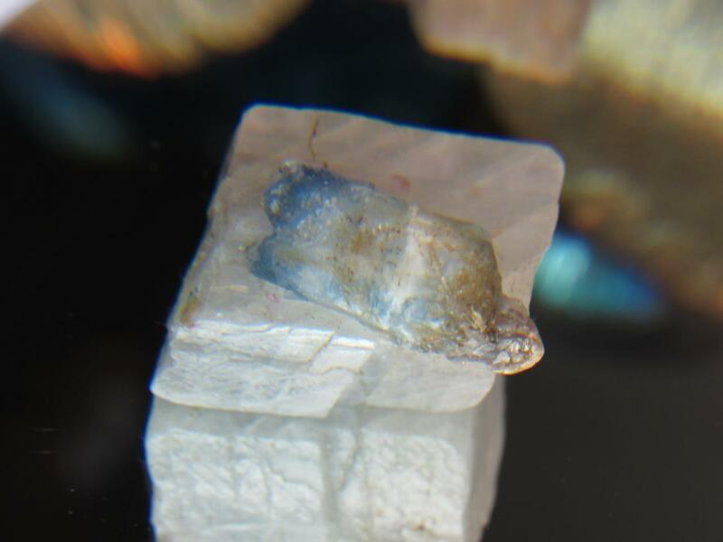208CT STUNNING MADAGASCAR OLIGOCLASE FELDSPAR XTL GROWN AROUND vB SCAPOLITE XTL