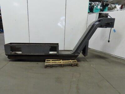 152 Incline Magnetic Chip Conveyor 11 Belt 48 Discharge 3.5fpm 208-230480v