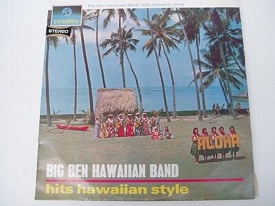 Hawaiian Style Band - Big Ben Hawaiian Band - Hits Hawaiian Style - LP