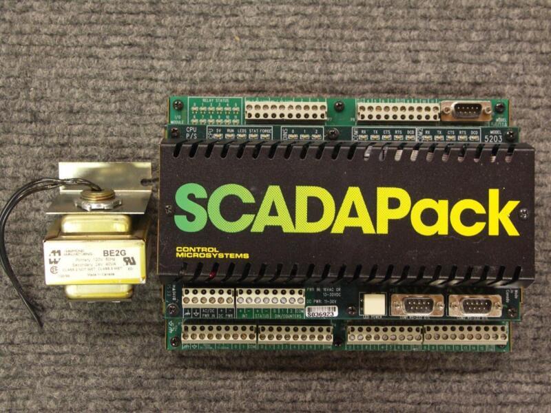 Schneider Electric Control Microsystems SCADAPack 5203 5601A PLC Controller