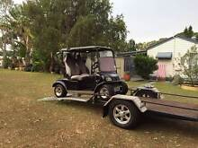 2008 Classic Golf Cart 48 Volt TROJAN batteries with Trailer Miami Gold Coast South Preview