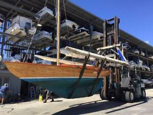 Folkboat classic yacht in excellent condition