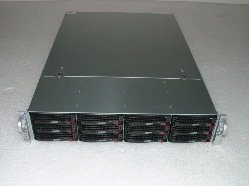 Supermicro 2U X8DTI 2x E5620 2.4ghz 8-Cores / 24gb / JBOD / 12x Trays / 2x 720w