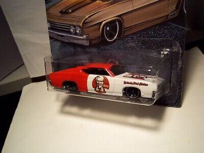 "Hot Wheels '69 Ford Torino Talladega ""KFC"" Custom"
