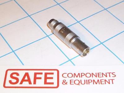 Ffa.os.302.clac37 Lemo Unipole Straight Plug Connector Male Brass Qty-1 R53-6