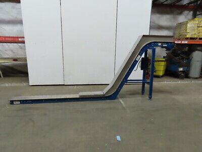 168 Incline Magnetic Chip Conveyor 10 Belt 54 Discharge 24fpm 208-230480v