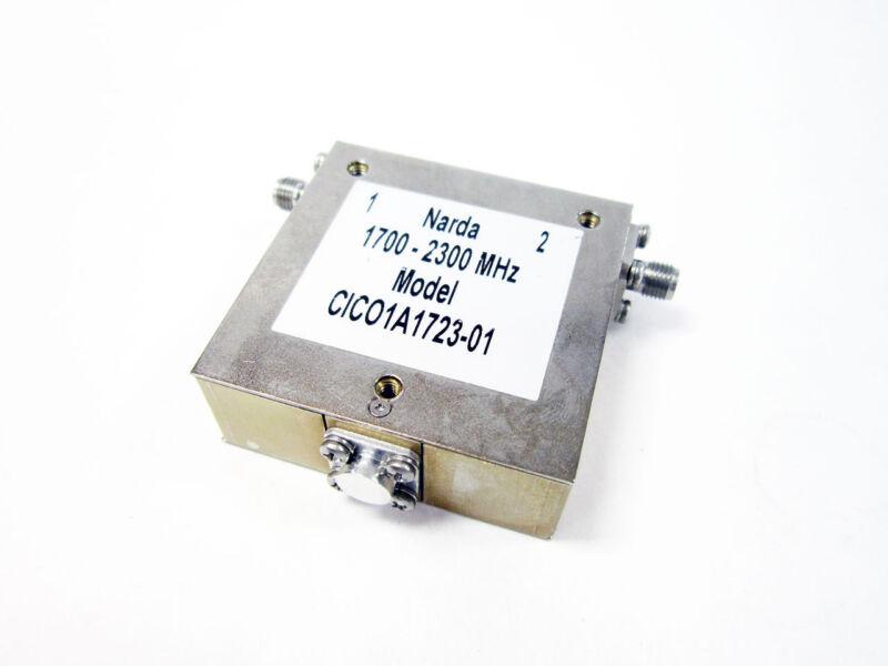 NARDA CIC01A1723-01 MICROWAVE ISOLATOR