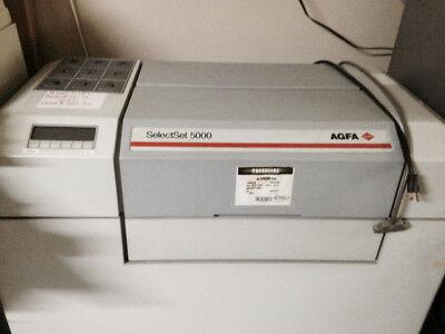 Agfa Selectset 5000 Imagesetter Devotec 20 Processor