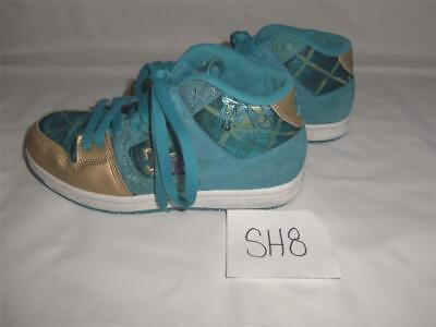 Womens Teens DC Manteca 2 Mid Shoes Sneakers Size 6 Turquoise Gold -1012SH08T11 Womens Manteca 2 Shoe