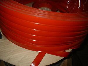 Vinyl Insert Molding Trim Screw Cover Rv Boat Camper Travel Trailer 1 Red 75