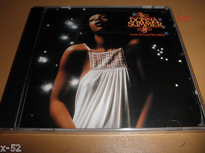 DONNA SUMMER Cd LOVE TO LOVE YOU BABY Her Second Album PANDORA s BOX - $11.99