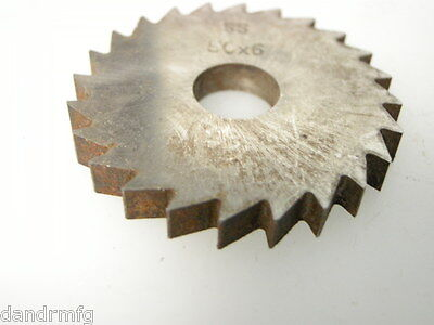 New 50mm X 6mm Circular Slitting Saw Blade Side Cutter Cutting Mill