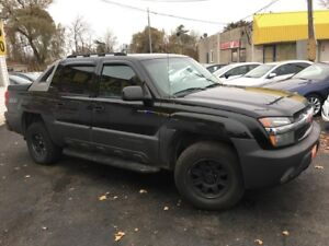 2003 Chevrolet Avalanche Z71 / 4x4 / Auto / Leather / READY FOR