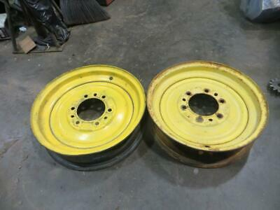 John Deere Jd1268 Front Wheel Rims A B 60 620 630 50 520 530