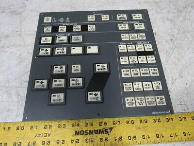 Yaskawa H9100-65-401-00 Vm40j-b Hmi Cnc Operator Panel Key Pad Pcb Board Plate