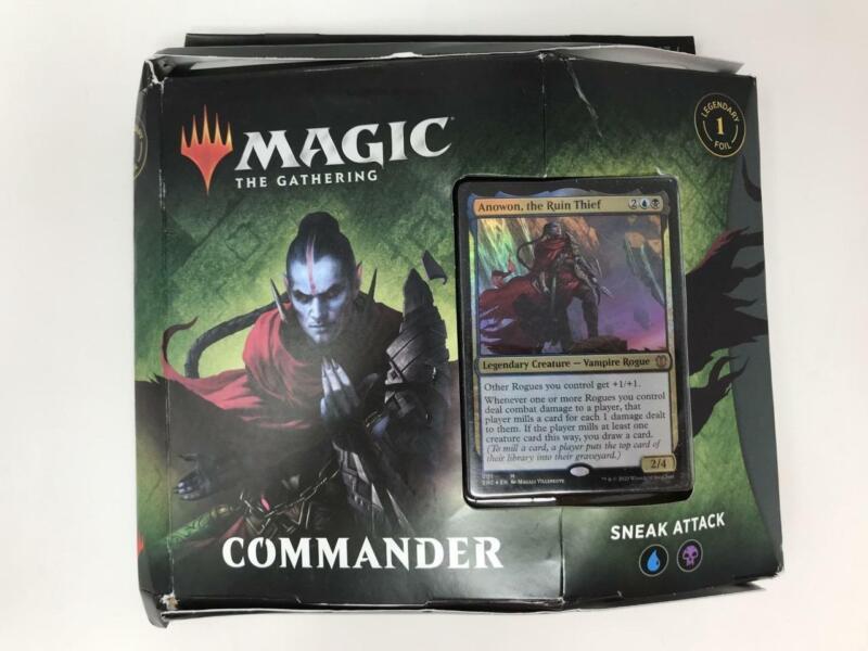 2020 Factory Sealed MTG Magic the Gathering Commander Sneak Attack Deck (invA)