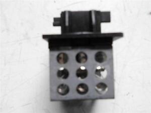 Peugeot 206 heater resistor