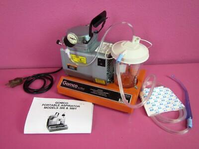 Gomco 300 3001 Medical Surgical Portable Aspirator Vacuum Suction Diaphragm Pump