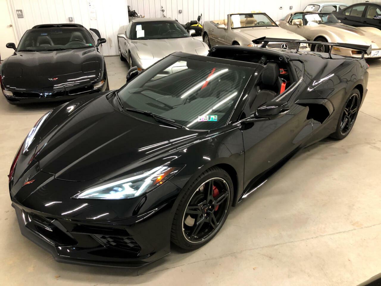 2020 Black Chevrolet Corvette Coupe 1LT | C7 Corvette Photo 3