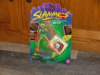 Vintage 1990 Mattel Slammers Ollie Grab Action Figure - Brand New Sealed