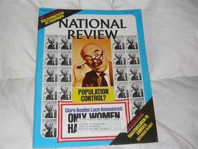 National Review Magazine   July 7 1978  Solzhenitsyn Harvard Commencement Speech
