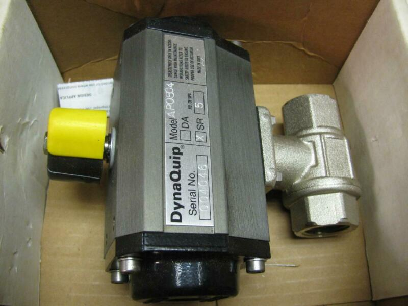 Dynaquip AP0504 6CX11 Air Actuated Ball Valve 3/4""