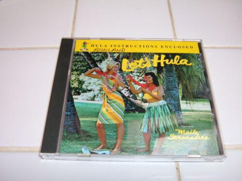 """HAWAII """"LETS HULA - MAILE SERENADERS"""" W/HULA INSTRUCTIONS MUSIC CD #1"""