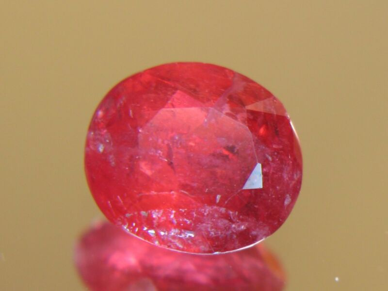 5.06CT XXRARE TRANSLUCENT FACETED AUSTRAILIAN RHODONITE