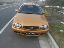 2001 Toyota Corolla Canley Vale Fairfield Area Preview