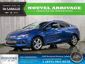 2018 Chevrolet Volt LT//CUIR// LIKE NEW AT A REAL BARGAIN//ONE O